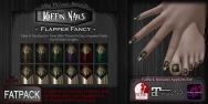 Dark Passions Koffin Nails