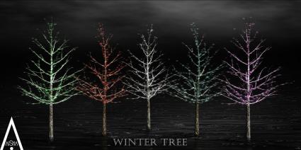 aisha-winter-tree-poster