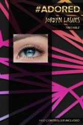 #adored jordyn lashes