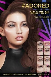 #adored vaseline dip makeup