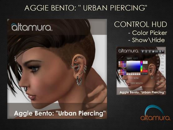 Altamura AGGIE Bento Urban Piercings