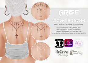 ARISE. Victoria Tattoo
