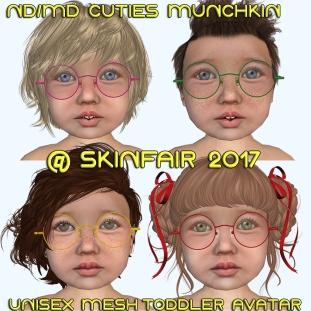 Cuties Munchkin PIC SKINFAIR