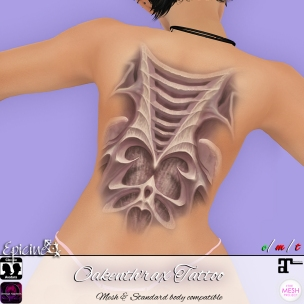Epicine - Oakenth'rax Tattoo Ad