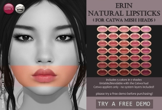 ering natural lipstick