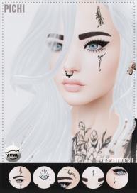 Face Tattoos II AD