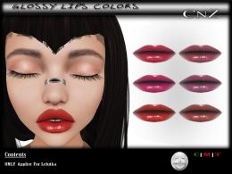 Glossy Lips Colors Lelutka AD