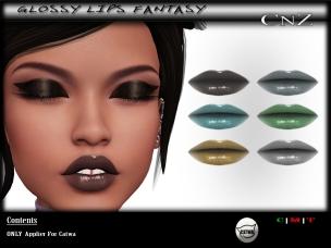 Glossy Lips Fantasy AD