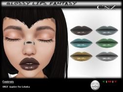 Glossy Lips Fantasy Lelutka AD
