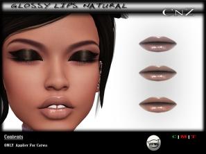 Glossy Lips Natural AD