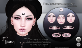 Lovely Disarray - The Occultist Makeup Set [AD]