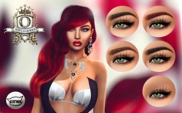 Ooh-la-licious Naavah Eyebrow Options