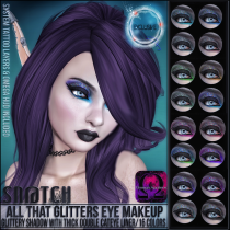 Sn@tch All that Glitters Eye Makeup Vendor Ad LG