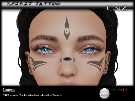 Spirit Tattoo Lelutka AD