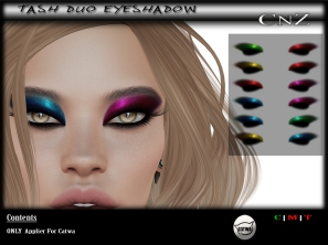Tash Duo Eyeshadow Catwa AD