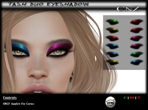 Tash Duo Eyeshadow Catwa AD