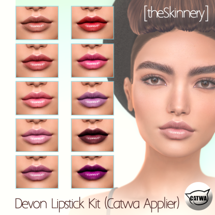 [theSkinnery] Devon Lipstick (Catwa) AD