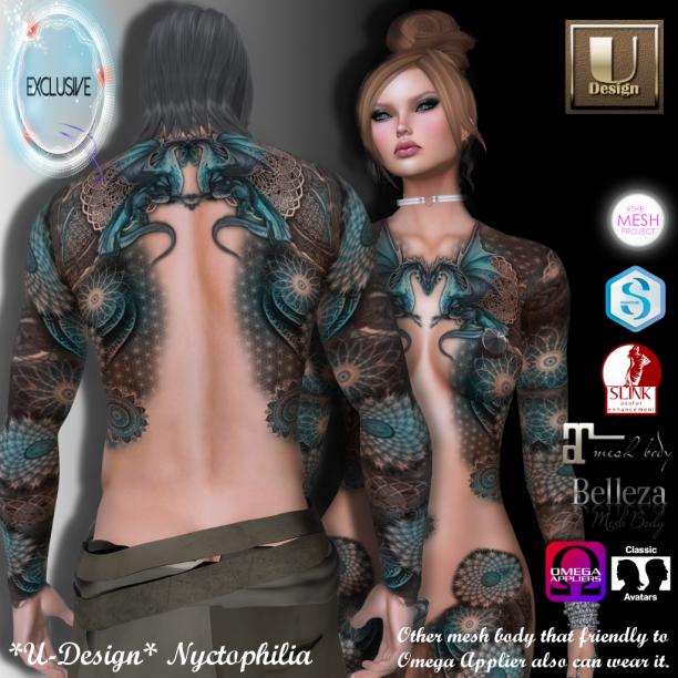 U-Design Nyctophilia_exclusive