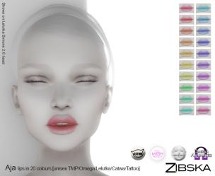 Zibska for Skin Fair 2017 - Aja Lips