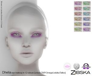 Zibska for Skin Fair 2017 - Dhelia Eyemakeup