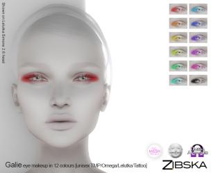 Zibska for Skin Fair 2017 - Galie Eyemakeup