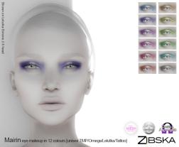 Zibska for Skin Fair 2017 - Mairin Eyemakeup