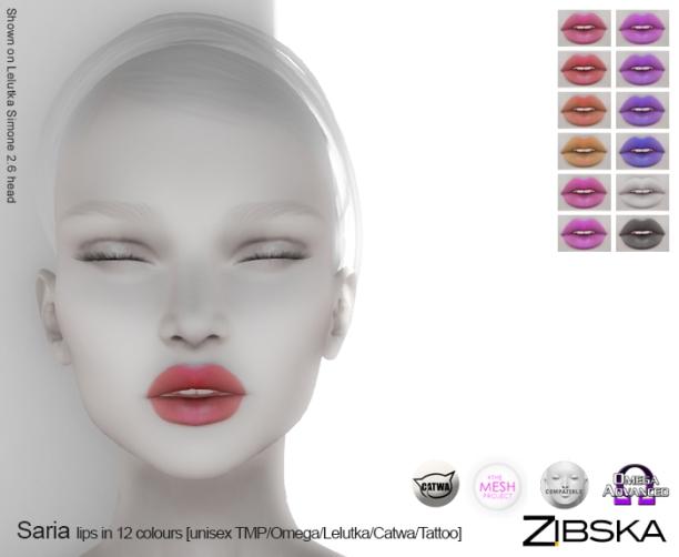 Zibska for Skin Fair 2017 - Saria Lips