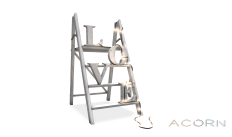 ACORN Love Ladder -White