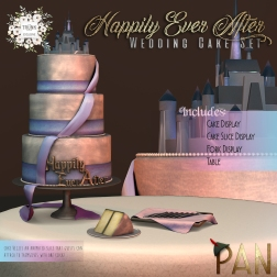 AD - PAN Happily Ever After - Wedding Cake Set
