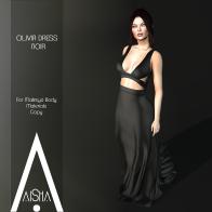.AiShA. Olivia Dress Noir1024
