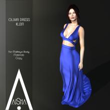 .AiShA. Olivia Dress Klein1024
