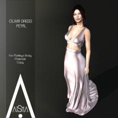 .AiShA. Olivia Dress Petal1024