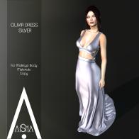 .AiShA. Olivia Dress Silver 1024
