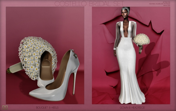 COSTELLO BRIDAL SET