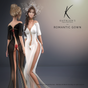 Kaithleen's Romantic Loose Dress Poster SL
