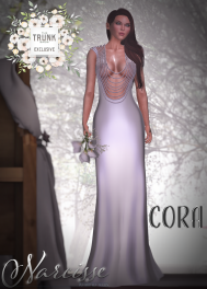 Narcisse Cora Gown Pearls Daring