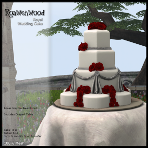 {RW} Royal Wedding Cake