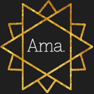 Ama. Logo Gold