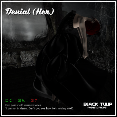[Black Tulip] Poses - Denial (Her)