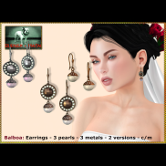 Bliensen - Balboa - Earrings Poster