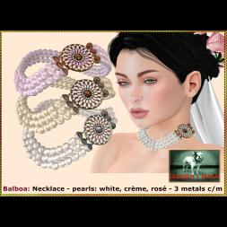 Bliensen - Balboa - Necklace Poster
