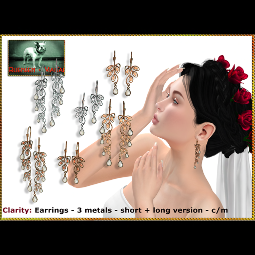 Bliensen - Clarity - earrings Poster