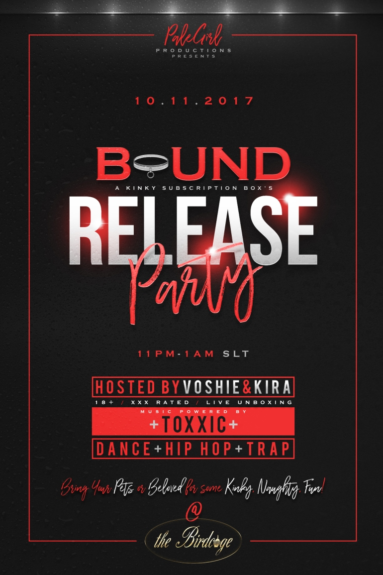 BOUND BOX RELEASE PARTY