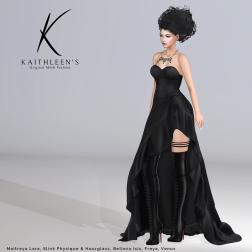 Kaithleen's Leffe Dress Poster