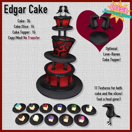 [LJ] Edgar Cake