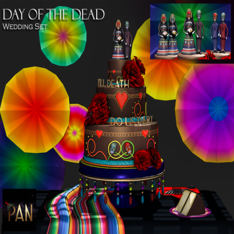 _PAN_ Day of the Dead Wedding Set
