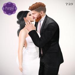 PURPLE POSES - Couple 729 [ad]