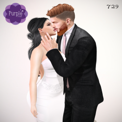 PURPLE POSES - Couple 729 [ad]