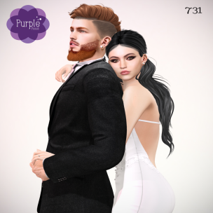 PURPLE POSES - Couple 731 [ad]