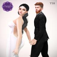 PURPLE POSES - Couple 732 [ad]